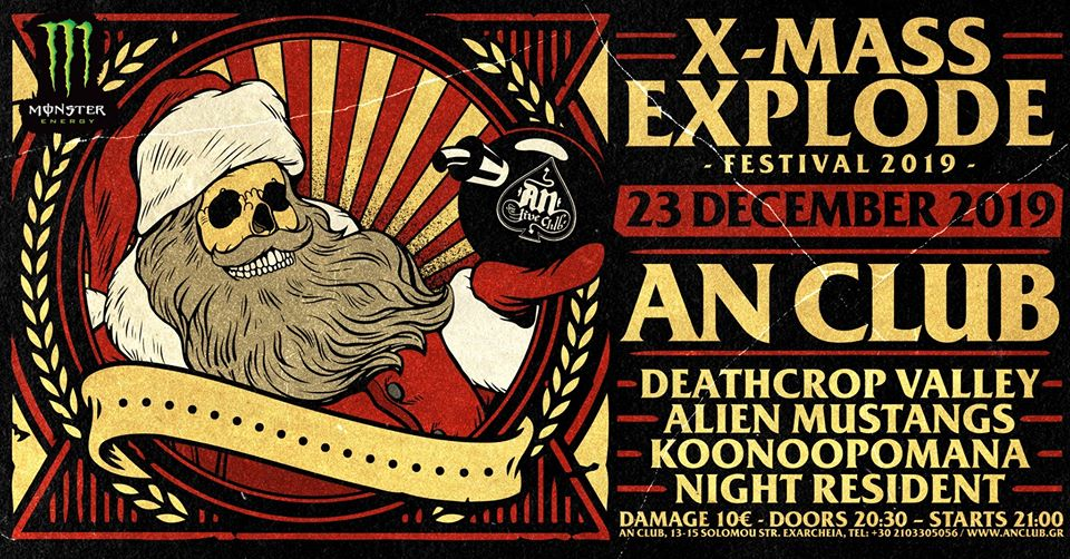 15 Years X-Mass Explode Fest