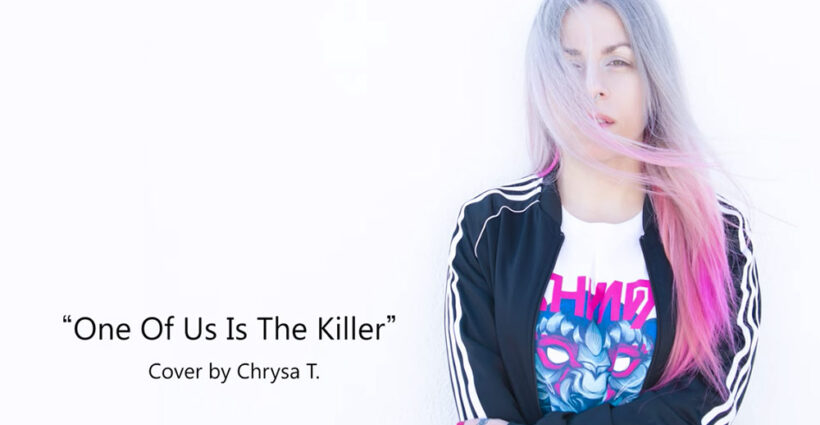 One-of-Us-is-the-Killer-The-Dillinger-Escape-Plan-cover-Chrysa-T.