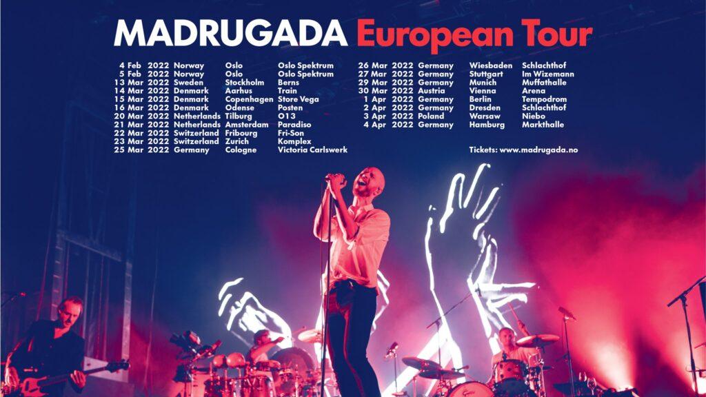madrugada european tour