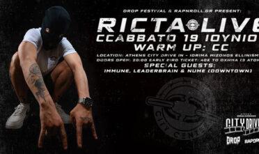RICTA DRIVE-IN LIVE | RapnRoll X Drop Festival